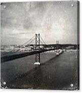 25 De Abril Bridge II Acrylic Print by Marco Oliveira
