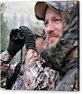 Hunting In Oregon Acrylic Print