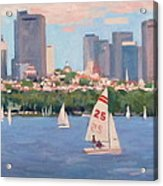 25 On The Charles Acrylic Print