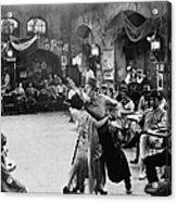 Rudolph Valentino Acrylic Print by Granger