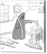 New Yorker December 15th, 2008 Acrylic Print