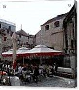 Views Of Split Croatia Acrylic Print
