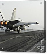 An Fa-18c Hornet Launches Acrylic Print
