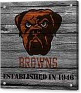 Cleveland Browns Acrylic Print