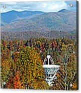 26 East And The Blueridge Panoramic Acrylic Print