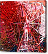 26 East Antenna Abstract 2 Acrylic Print