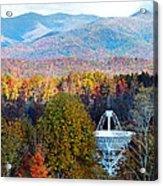 26 East Antenna And The Blueridge Acrylic Print