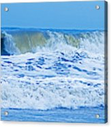 Hurricane Storm Waves Acrylic Print