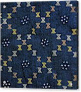 Motif From Antique Asian Textile (pr Acrylic Print