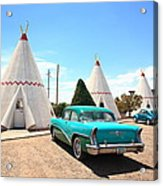 Route 66 Wigwam Motel Acrylic Print