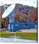 26 West Antenna And Research Building Acrylic Print