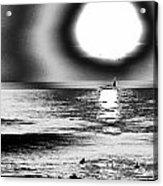 26th St Beach Acrylic Print by Daniel Brodell-Lake