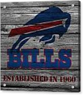 Buffalo Bills Acrylic Print