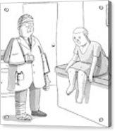 New Yorker February 2nd, 2009 Acrylic Print