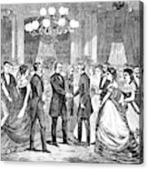 Andrew Johnson (1808-1875) Acrylic Print
