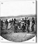 Civil War Black Troops Acrylic Print