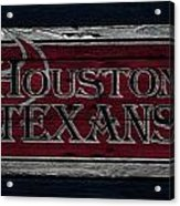 Houston Texans Acrylic Print