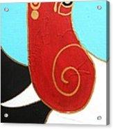 28 Shashwat Ganapati Acrylic Print