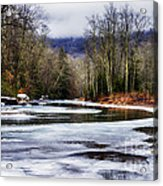Winter Along Williams River Acrylic Print