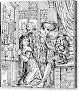 Dance Of Death, 1538 Acrylic Print