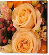 Flowers For You Acrylic Print by Gornganogphatchara Kalapun