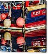 Lyme Regis Harbour Acrylic Print