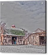 29 Mile Road Barn Acrylic Print