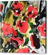 Fragrance Of Flowers Acrylic Print