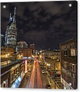2nd Ave And Broadway Acrylic Print
