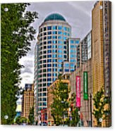 2nd Avenue - Seattle Washington Acrylic Print