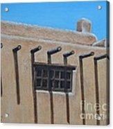 2nd Floor Window Acrylic Print