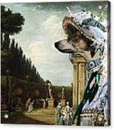 Chart Polski - Polish Greyhound Art Canvas Print Acrylic Print