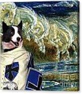 Karelian Bear Dog Art Canvas Print Acrylic Print