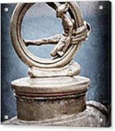 1912 Gobron-brillie 12 Cv Skiff Hood Ornament Acrylic Print