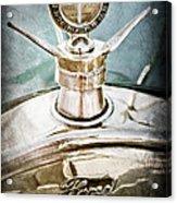 1923 Ford Model T Hood Ornament Acrylic Print by Jill Reger