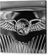 1933 Pontiac Emblem Acrylic Print
