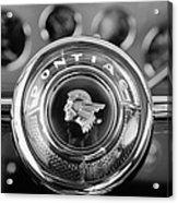 1933 Pontiac Steering Wheel Emblem Acrylic Print