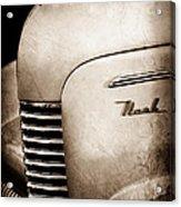 1940 Nash Sedan Grille Acrylic Print