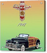 1948 Chrysler Town And Country Acrylic Print