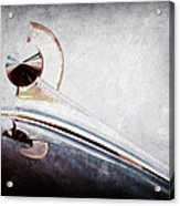 1949 Ford Hood Ornament Acrylic Print
