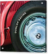 1952 Frazer-nash Le Mans Replica Mkii Competition Model Tire Emblem Acrylic Print