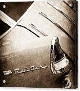 1955 Chevrolet Nomad Wagon Taillight Emblem Acrylic Print