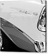 1956 Chevrolet Belair Nomad Taillight Emblem Acrylic Print