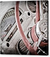 1956 Ford Thunderbird Steering Wheel Acrylic Print