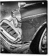 1957 Studebaker Golden Hawk Bw  Acrylic Print