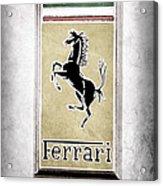 1959 Ferrari 250 Gt Emblem Acrylic Print