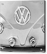 1959 Volkswagen Vw Panel Delivery Van Emblem Acrylic Print