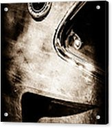 1969 Ford Mustang Boss 429 Sportsroof Side Emblem Acrylic Print