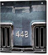 1970 Oldsmobile 442 Grille Emblem Acrylic Print