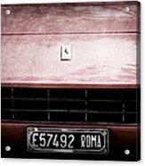1972 Ferrari 365 Gtb-4a Grille Emblem Acrylic Print